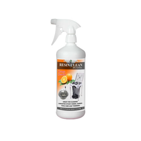 White 1 litre Resin Cleaner bottle with nozzle spray.