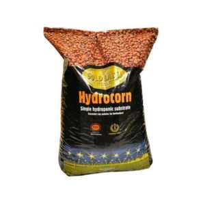 Black bag with orange and yellow labeling.