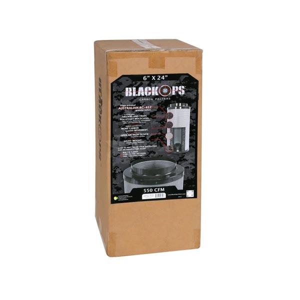 black ops carbon filter 550cfm