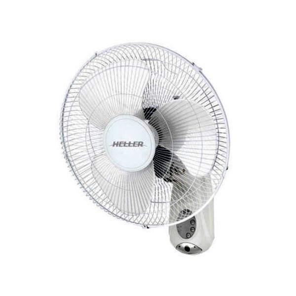 White fan with white blades.