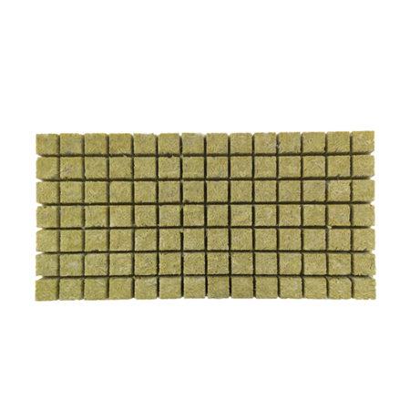 Slab of 98 Rockwool cubes.