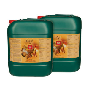 House & Garden Cocos A&B 5L in two separate green drums and orange packaging..