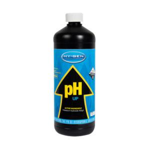 Hy-Gen black 500ml bottle with white cap