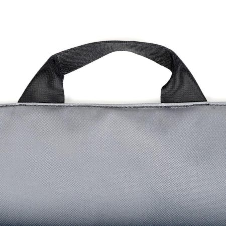 Abscent The Vendor in grey with black handle.