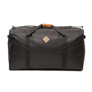 The Transporter Duffel in Carbon.