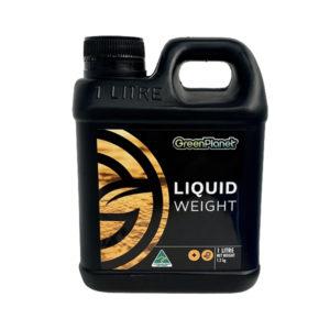 Green Planet Liquid Weight in 1 litre bottle.